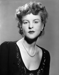 ELAINE STRITCH -- Pictured: Elaine Stritch in 1948 -- (Photo by: NBC/NBCU Photo Bank via Getty Images)
