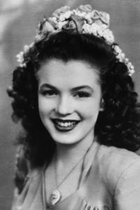 Brunette Marilyn